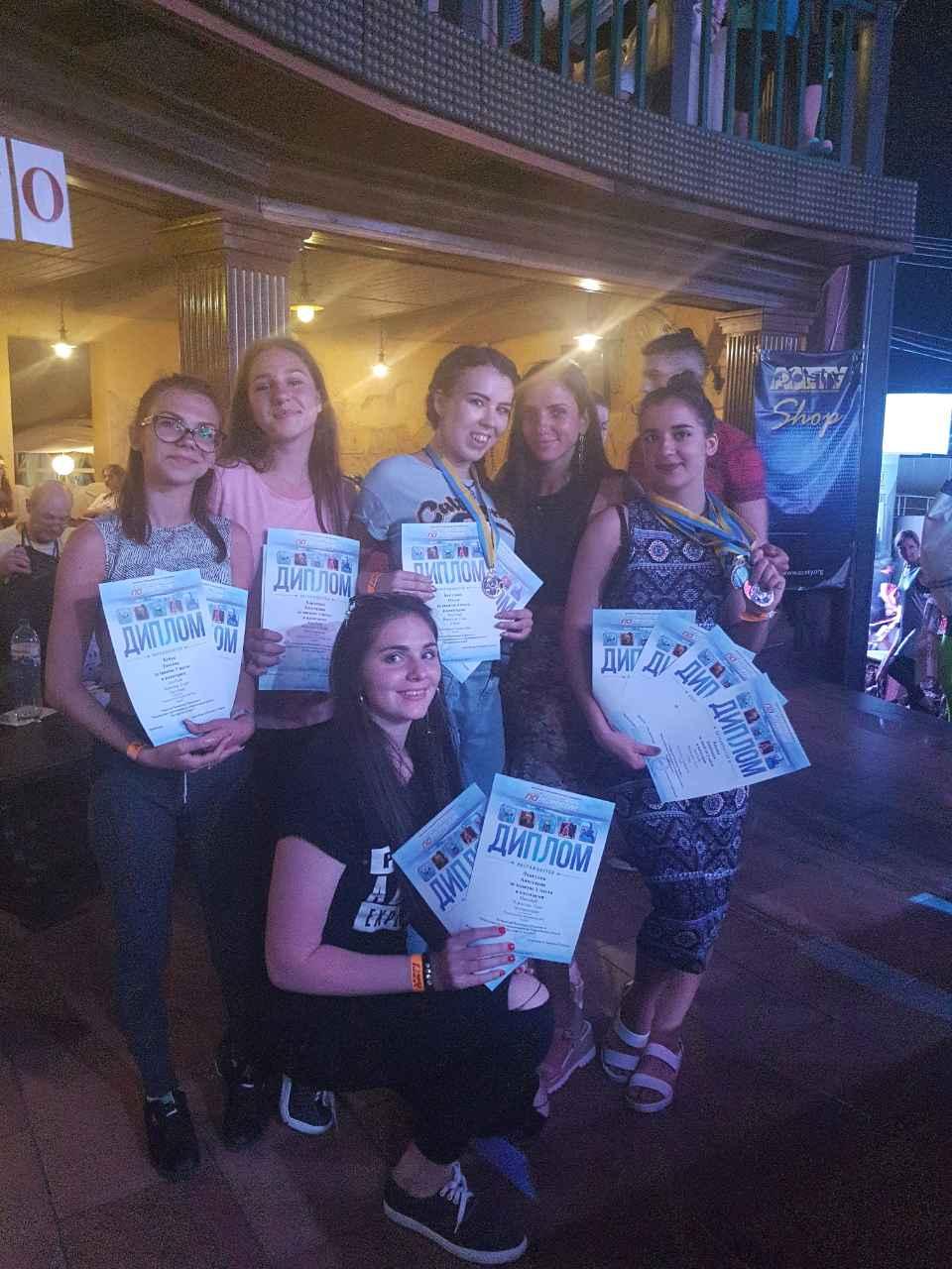 чемпионат Украины по современным танцам